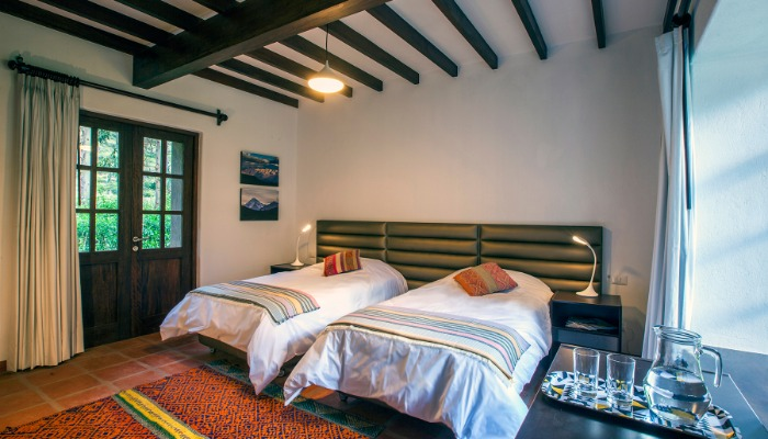 cuarto - valle - cusco - hotel - cama -  noche - lodge - hostel - actividades - sierra - peru -  bedroom – sacred valley - sacred valley of the Incas - accommodations - hotels in the valley - hostel - boutique hotel - king beds - queen beds - comfortable beds - clean bathroom - personalized service- nature - landscapes - getaway